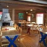 Tidsriktige lokaler på Café Finnskog.