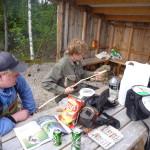 Sosialt på Hof Finnskog (foto: Solør FFK)