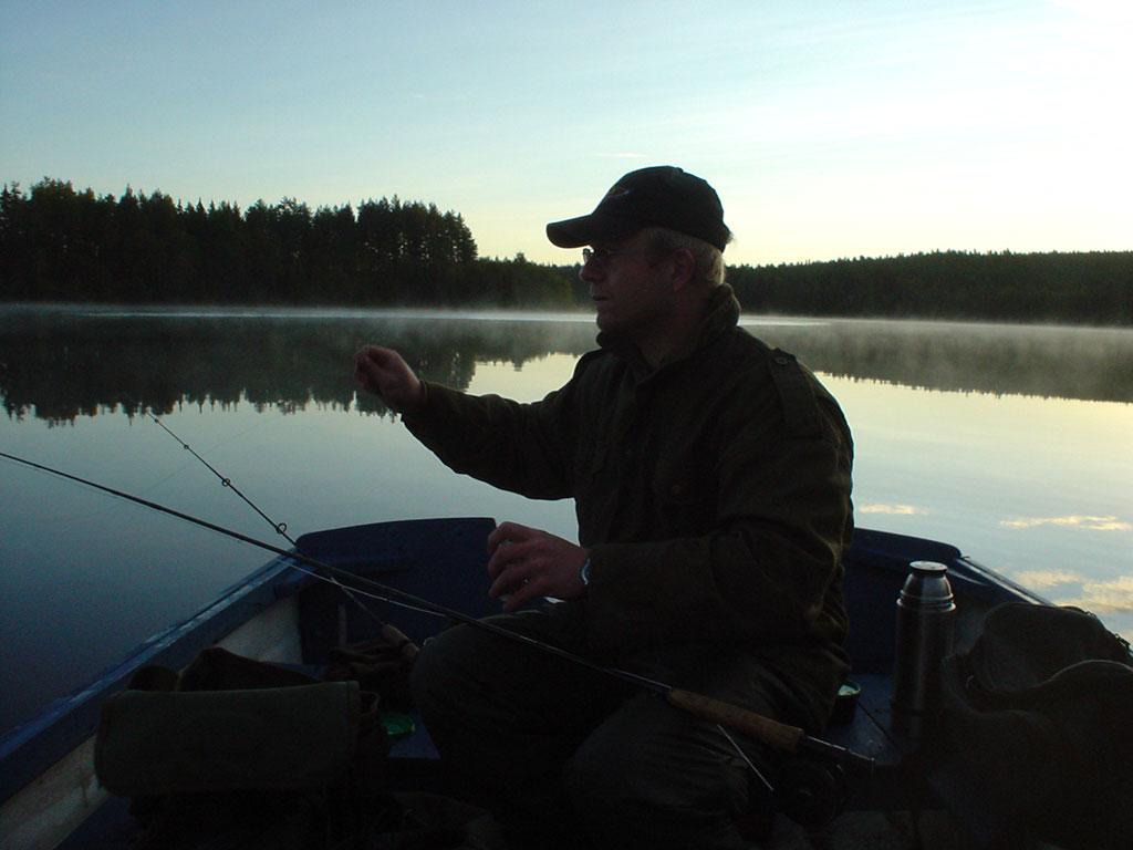 Stemning på Holtsjøen